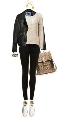 """Cable Knit Casual"" by angela-windsor on Polyvore"