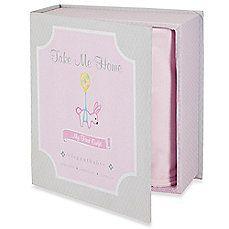 image of Elegant Baby® Take Me Home Premier Gift Set in Pink