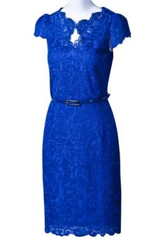 Slim Belt Lace Dress. I need this for work!