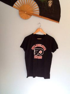 Vintage Philadelphia Flyers Tee Shirt by InTheRoughFashion on Etsy, $25.00
