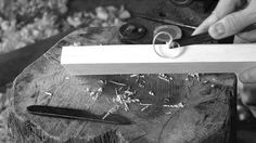 Sounds of the Workshop: Creating an Aikuchi Tanto Mount
