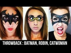 THROWBACK SERIES #11: Batman & Robin Masks (+ Catwoman Snippet) | Courtney Little - YouTube