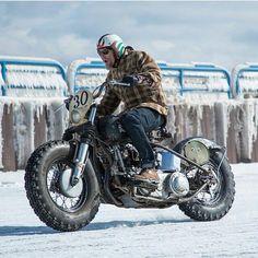"elegant-apparatus: ""@alessandra.ab66 #winteriscoming #ridewithstyle…"