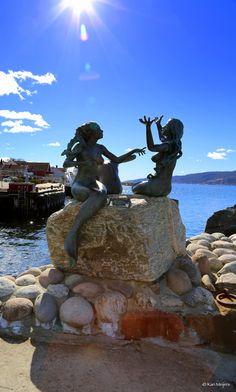 Mermaids- Drøbak City, Norway by Kari  Meijers on 500px