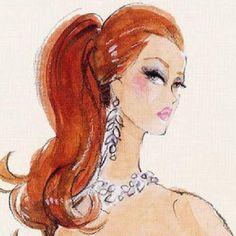 Redhead Barbie by Robert Best