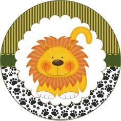 Olá *-*     Festas no  tema Safari  estão em alta, e as principais cores do tema são: verde , marrom , laranja  e amarelo . E é um tema uni...