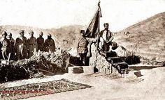 Çanakkale Savaşları 1915 İbadet için oluşturulmuş mescit ve mermi sandıklarından yapılmış Mimber..