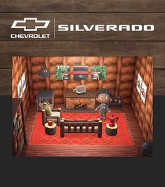 Add some outdoor appeal to your #AnimalCrossing world with this 2020 Silverado hideaway. See our Pins to download each item. Gta 5 Online, Chevrolet Tahoe, Floor Design, Animal Crossing, Gaming, Flooring, House, Outdoor, Animals