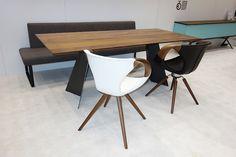 Messe Dornbirn 7.09-11.09.16 Tische palatti - Stühle TONON - Massivholz-Design