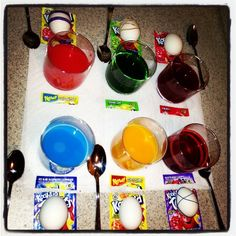 How To Make Kool Aid Easter Eggs
