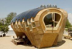 Design da Fab Lab House por IAAC