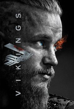 #Vikings Poster of Ragnar Lothbrok actor and Saint Regina Konig O Konig Newgrange Jennings Brusca Kattagat Nato