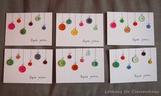 Looking for Clementines: askartelu Christmas Cards, Christmas Decorations, Holiday Decor, Snowman Cards, Advent Calendar, Triangle, Seasons, Frame, School Stuff