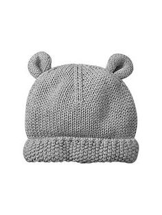 Bear sweater hat | Gap - oh my god, I will go broke! Baby stuff is too adorable!