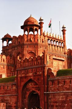 The Red Fort in Delhi, India