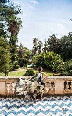 Palermo's Villa Tasca, Sicily - Italy | Cool Chic Style Fashion