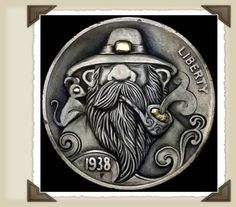Intricate Hobo Nickel Sculptures - My Modern Metropolis. Learn about your collectibles, antiques, valuables, and vintage items from licensed appraisers, auctioneers, and experts at BlueVault. Visit:  http://www.BlueVaultSecure.com/roadshow-events.php