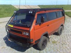 Volkswagen T3 T25 VANAGON VW: TRAILBREAKER: especialistas en T3