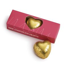 Moms Milk Chocolate Hearts - perfect gift for mothers day!