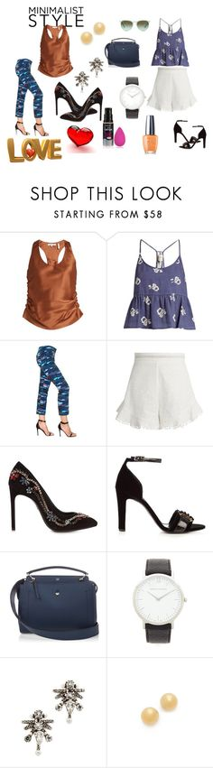 """""""Crazy ...,????"""" by jamuna-kaalla ❤ liked on Polyvore featuring Helmut Lang, Sea, New York, The Seafarer, Zimmermann, Lanvin, Erdem, Fendi, DANNIJO, Kate Spade and vintage"""