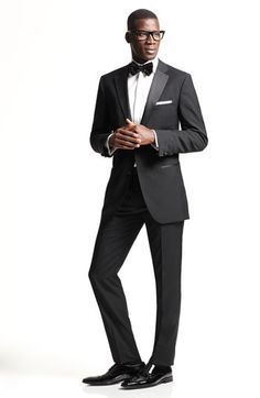 Hugo Boss 'The Stars Glamour' Trim Fit Wool Tuxedo (Free Next Day Shipping) on shopstyle.com