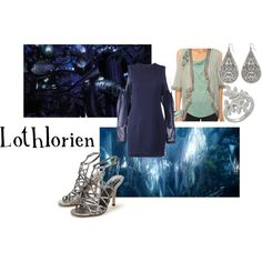 "Lord of the Rings, The Hobbit-""Lothlorien"" by companionclothes on Polyvore"