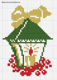 quilting like crazy Cross Stitch Christmas Cards, Xmas Cross Stitch, Simple Cross Stitch, Cross Stitch Borders, Christmas Cross, Counted Cross Stitch Patterns, Cross Stitch Charts, Cross Stitch Designs, Cross Stitching