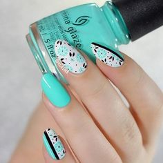 wonderful nail art ideas for women 2015 Too Yacht to Handle China Glaze autor