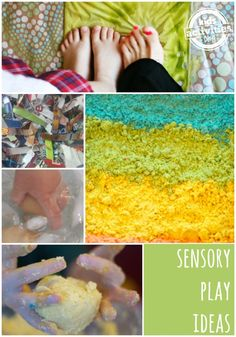 15 {Fantastic} Sensory Play Ideas