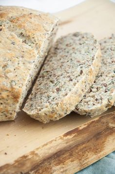 Vegan Seedy Bread slices