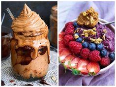 bananglass, acai, choklad, recept, banan, fryst, kakao, nyttig, vegan