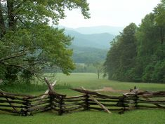 Cades Cove, Great Smokey Mtns. National Park. One of my favorite places ever:)