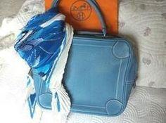 Bon Plan sur 123luxe.fr : Neuf: SAC authentique Omnibus II HERMES bag, Tasche, bl