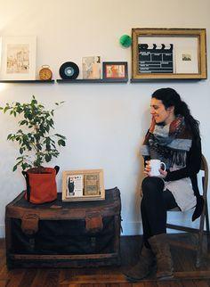 Lisez notre portrait d'Ivana, décoratrice d'intérieur et fondatrice de @GrenierdeTrucs