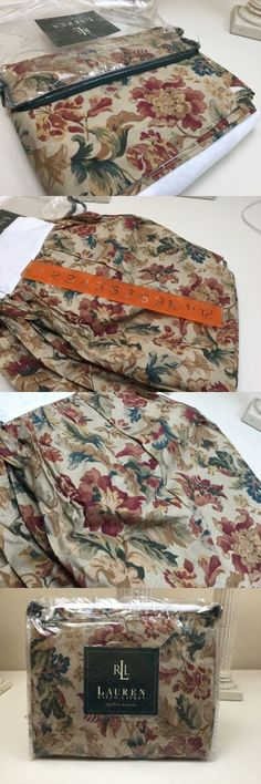 Bed Skirts 20450: New Ralph Lauren Twin Bed Skirt Dust Ruffle Highgate Woods Floral Autumn Colors -> BUY IT NOW ONLY: $31.99 on eBay!