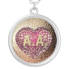 A.A. Alcoholics Anonymous Necklace by TinkerM