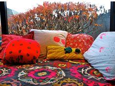 Suzani bed spread