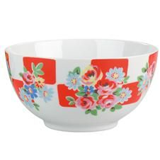 Daisy Rose Check Cereal Bowl