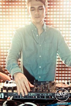 He's just so adorbs, you know--making EDM and all.