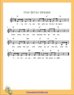 Lots of free, easy-to-read sheet music for kids on this site as well as a piano lesson videos... great for #GirlScout Juniors working on their Musician Badge