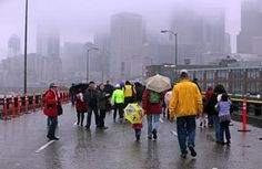 Several thousand people showed up to walk on the Alaskan Way Viaduct one last time before demolition began (via The Seattle Times)
