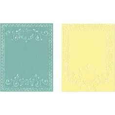 sizzix ornate frames embossing folder - Google Search
