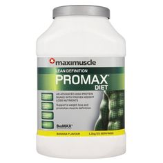 Maximuscle Promax Diet 1200 g Banana Weight Loss and Definition Shake Powder £29.82