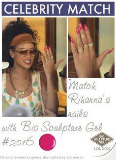 Match Rihanna's nails with Bio Sculpture London