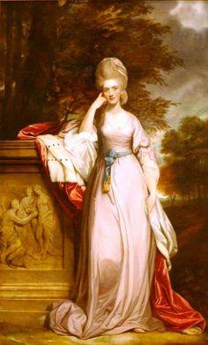 1780 Anne, Viscountess Townshend by Sir Joshua Reynolds (Palace of the Legion of Honor, San Francisco California) | Grand Ladies | gogm