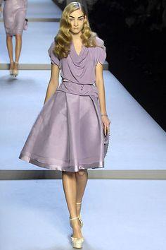 Christian Dior Fall 2007 Ready-to-Wear Fashion Show - Anna Barsukova