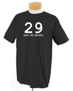 adult 40th birthday party shirt makes a great gift by OodlesDecals, $16.00