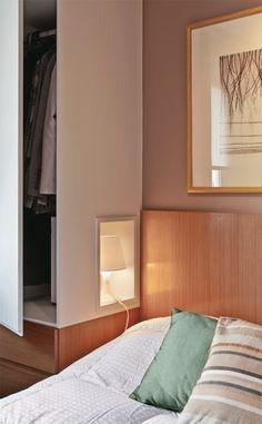 Apartamento de 60 m² com ambientes integrados depois da reforma - Casa