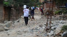 Al menos 72.000 personas resultaron afectadas por las lluvias en varios distritos de Perú. | Foto: @aciprensa