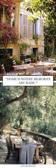 summer in provence - Vicki Archer #traveldiary #travelphotos #travelinstyle